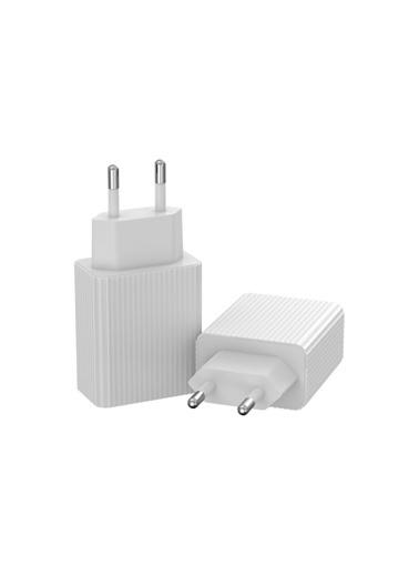 marstec Marstec Iphone Samsung 18W Hızlı Şarj Aleti Adaptörü  Beyaz